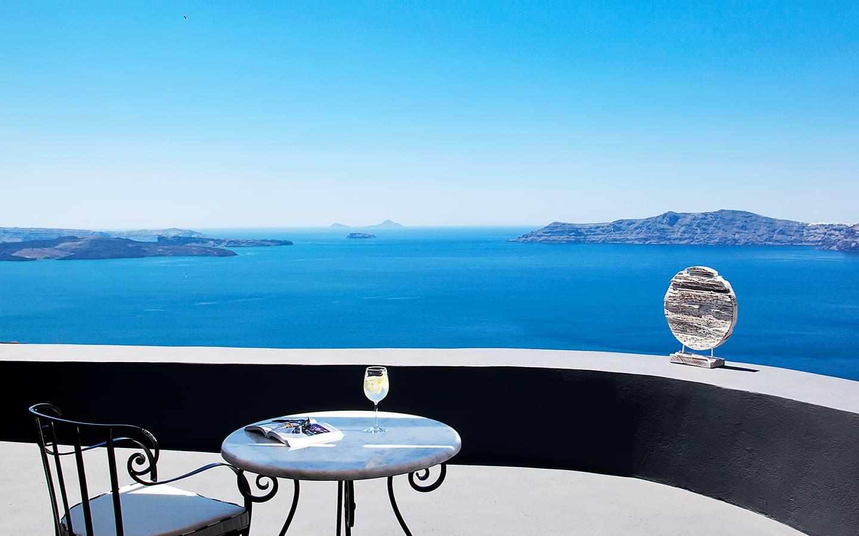 Superior Suite Sea View | San Antonio Santorini Hotel